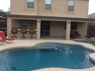 San Tan Valley house rental - Heated swimming pool, room for everyone.