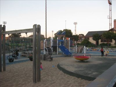 Children's Playground within Moscone Park (Tennis,Rec. Center, BB court, Golf)