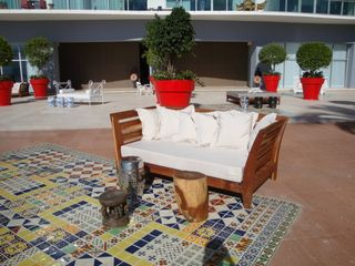 Puerto Vallarta condo photo - POOL PATIO, MANY DIFFERENT SEATING STYLES AND ARRANGEMENTS FOR DIFFERENT GROUPS