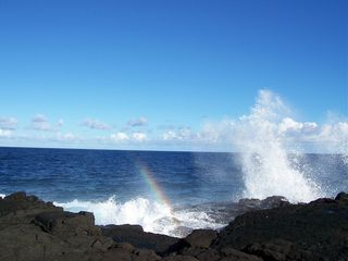 Keaau house photo - Walk to the water's edge and take in the sea spray.