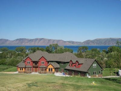 Brand new luxury retreat located right across the street from Bear Lake