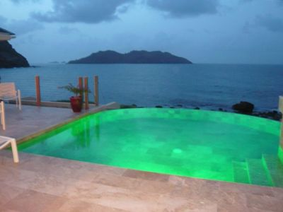 Pool with LED pool light !
