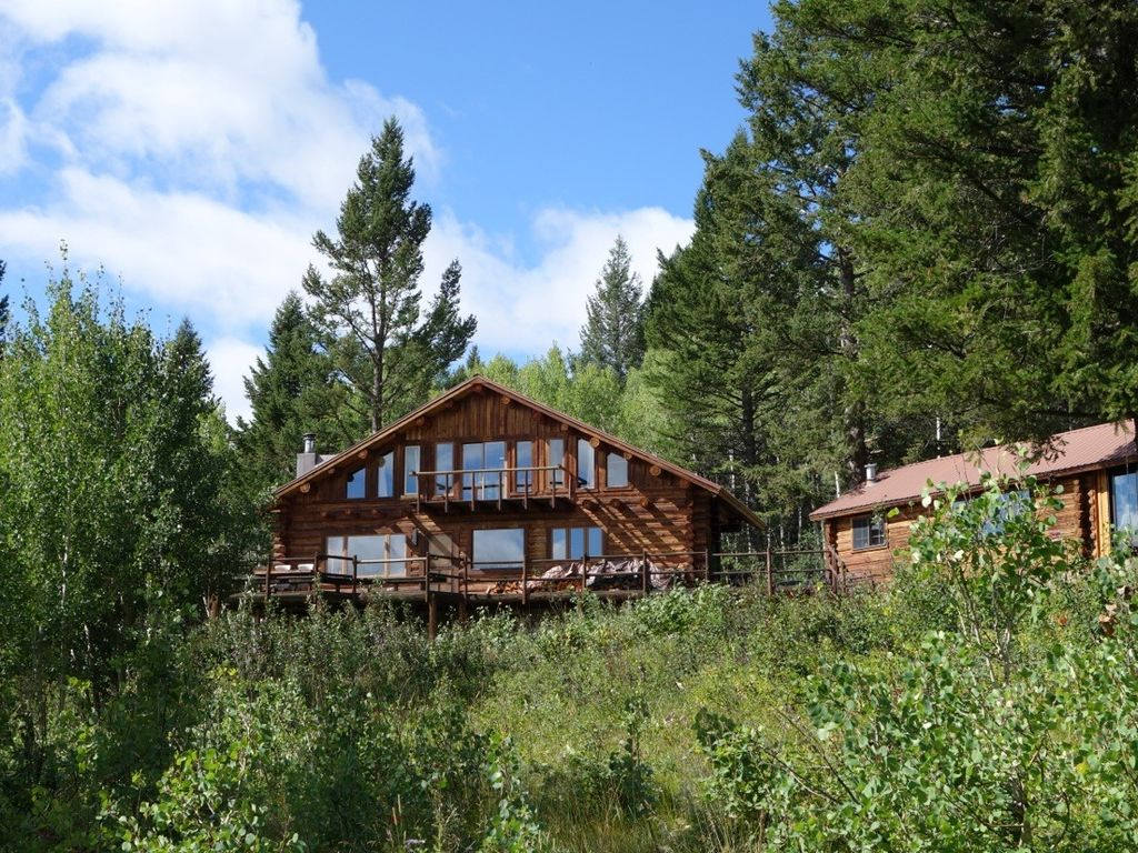 Jackson Hole Log Cabin With Expansive Vrbo