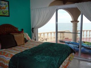 Puerto Penasco house photo - 2nd Beach Front Bedroom just steps from the ocean