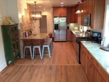 Michigan City house rental - Newly rehabbed home with a cool vintage vibe!
