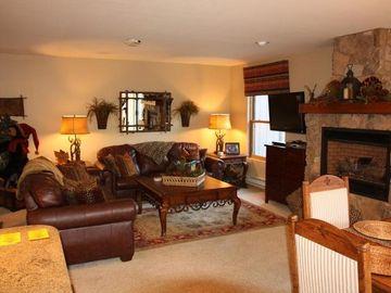 Breckenridge condo rental - Living Area