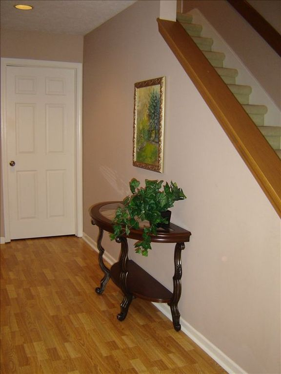 Spacious entrance hallway