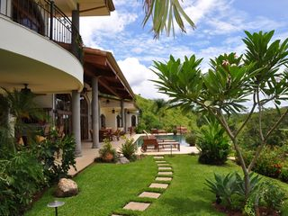 Playa Hermosa villa photo - View of Terrace facing Gulf of Papagayo