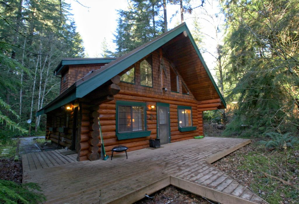 Snowline Cabin 29 A 2 Story Pet Friendly Log Cabin