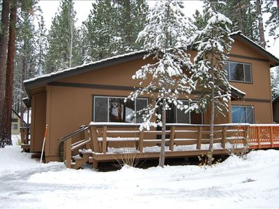 Tahoe Valley condo rental - Bear's Lair in the winter