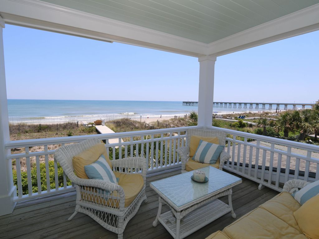 sandpiper cottage oceanfront home with vrbo