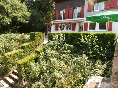 Spacious House In The Heart Of The Northern Vosges. View of ponds and private spa.