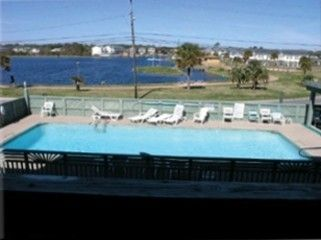Carolina Beach condo rental - Enjoy the private pool!