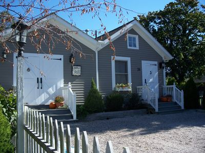 Mystic cottage rental - Carriage House with off street parking