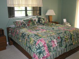 Key Colony Beach property rental photo - Comfortable King Master Bedrooms