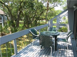 Seabrook Island condo photo - Deck with Pretty View