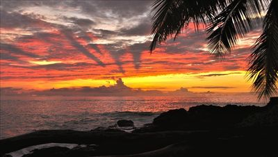 Breathtaking Kona Sunset from Little Piece of Heaven