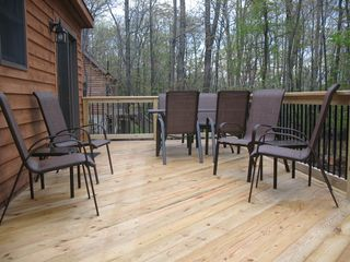 Swanton cabin photo - Deck