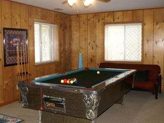 Hot Springs house photo - Downstairs game room with pool table