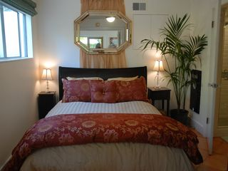 Santa Barbara house photo - Queen bed accommodations. Sweet Dreams!