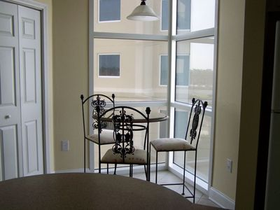 Breakfast Nook with Beautiful Views of The Beach & Gulf