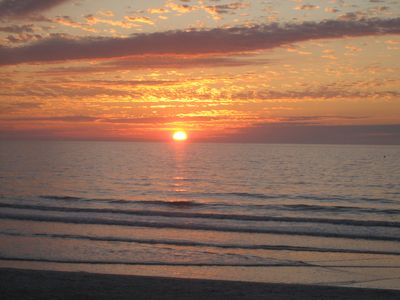 Enjoy spectacular sunsets almost every day!!!