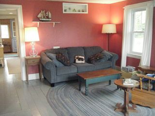 Castine cottage photo - Spacious living room with comfy seating