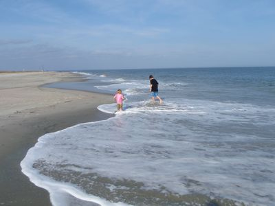 Quiet Beaches with your kids and grandkids!