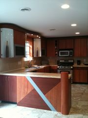 Designer kitchen - Albrightsville house vacation rental photo