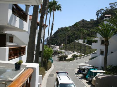 Catalina Island villa rental - View from the balcony