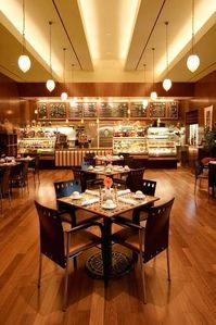 Las Vegas condo rental - Delights Restaurant inside the Signature