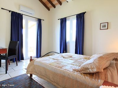 Corfu villa rental - Master bedroom