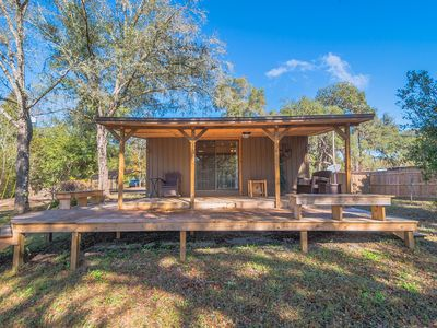 Best Little Cabin on the Withlacoochee River! Close to Attractions; Amazing View
