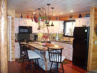 Ellijay cabin photo - Another view of the Kitchen