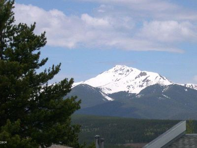 View of Byers Peak from the Condo living room and deck!