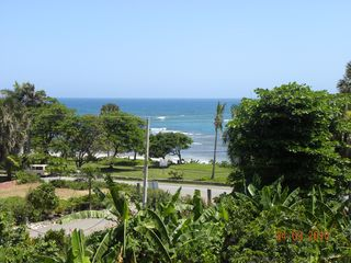 Puerto Plata villa photo - Beautiful view from the 3rd floor front balcony overlooking the ocean and beach