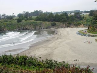 Mendocino house photo - walktocasparbeach