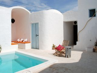 Isle Djerba house photo - Safran: DAR FARAH's inner courtyard and pool