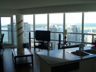 Toronto condo photo - Bright, airy living space, with great views...