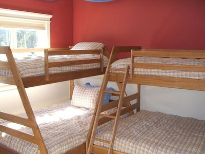 Kids love the bunk room and adults find it amazingly comfortable as well.