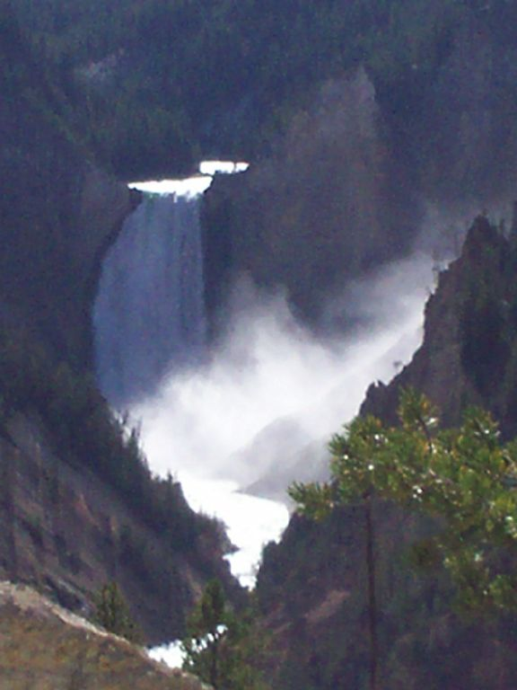 Our favorite place in Yellowstone, the Lower Falls