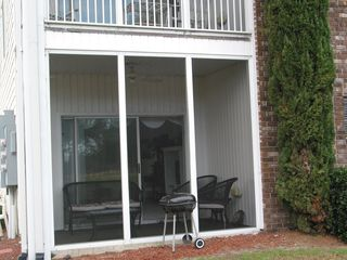 Sunset Beach condo photo - Screened Porch