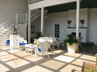 Ponte Vedra Beach house photo - 2 Story 34x36 foot Screened in back Porch overlooking pool and private garden!!!