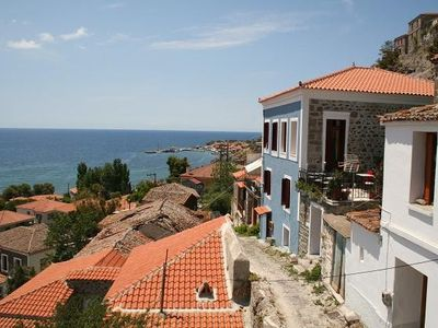 Lesbos house rental - Front view
