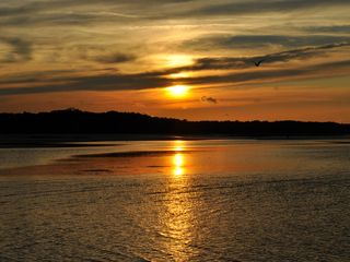 Port Royal villa photo - The sun set over Port Royal Sound after a beautiful day on Hilton Head Island!