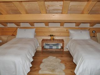 Mezzano barn photo - Twin beds