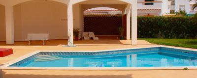 T2 100m from the beach with pool and terrace