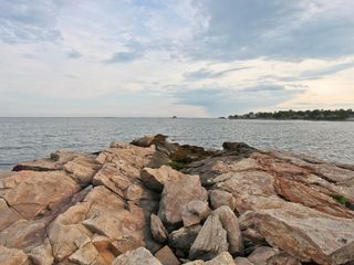 Branford house photo - View of Long Island Sound from Pier.