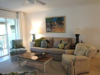 Siesta Key condo photo - Right side of living room all new 2010