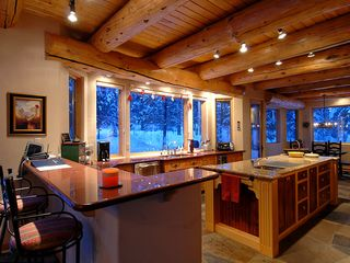 Four O'Clock Breckenridge house photo - Milano Meadows - Gourmet Kitchen with bar seating for 2